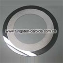 Tungsten carbide circular knives